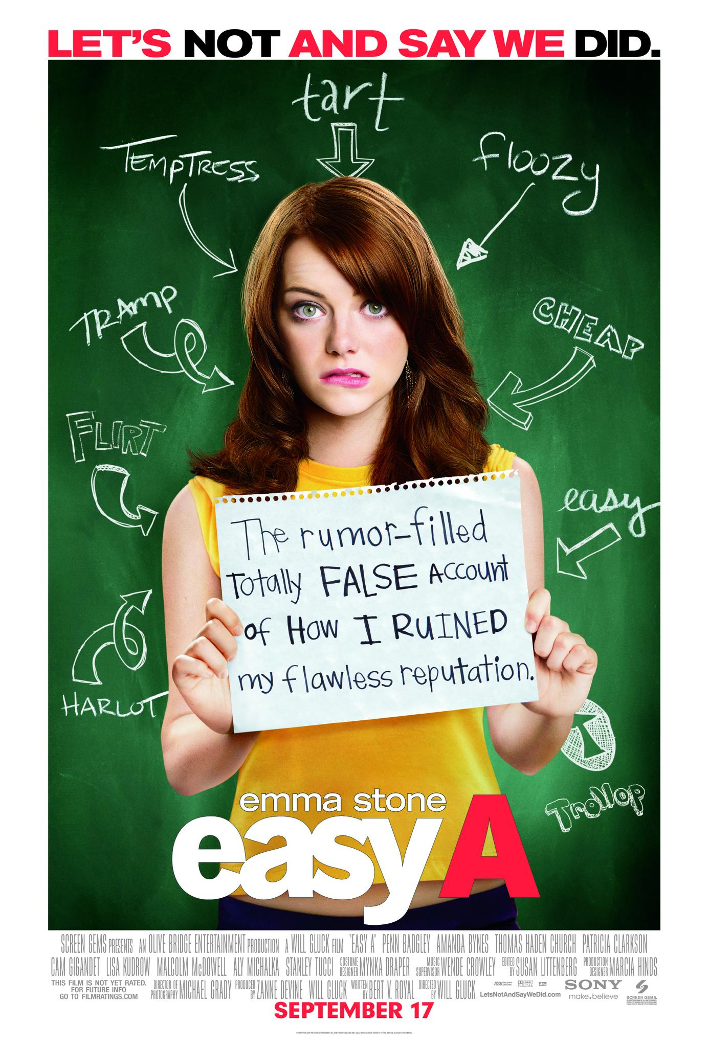 Easy movie poster