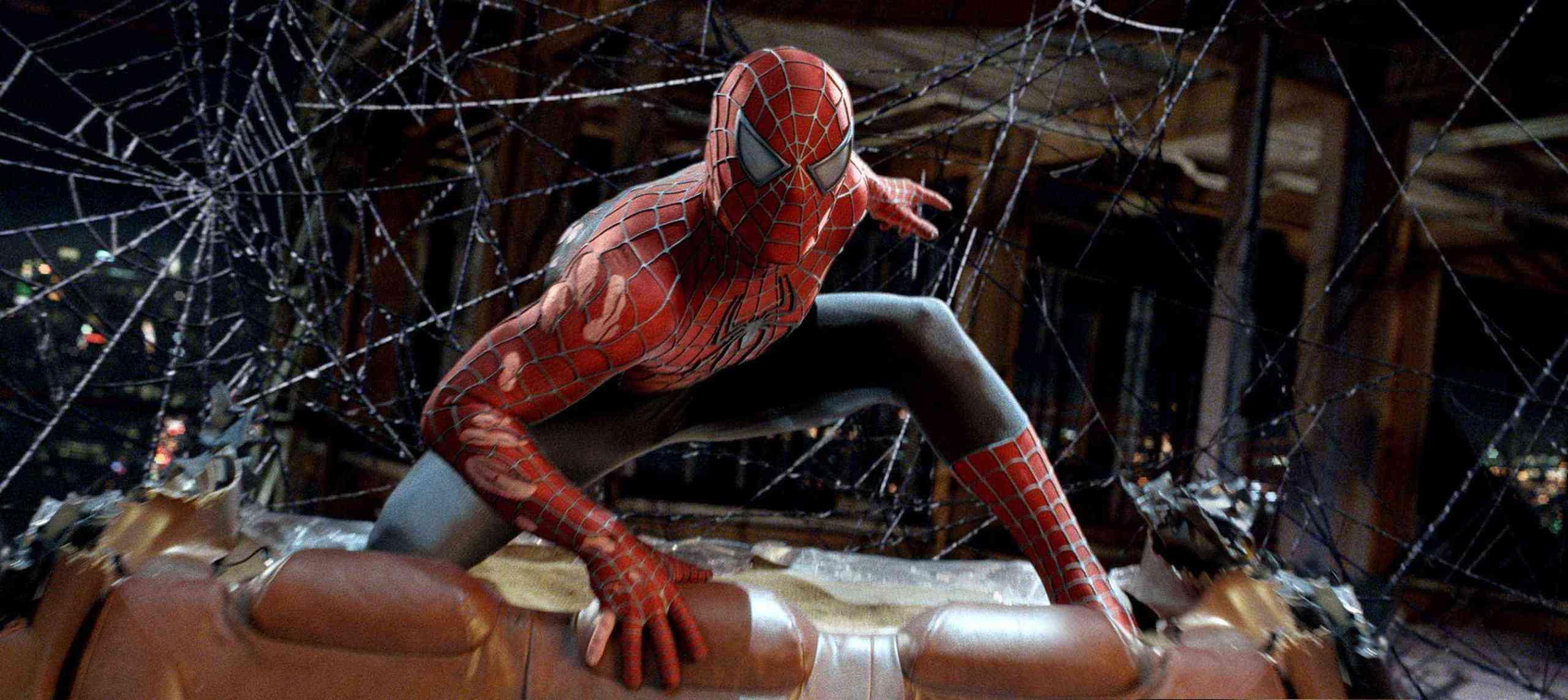 stretching the web (spider-man 3, 2007) | tripping through gateways