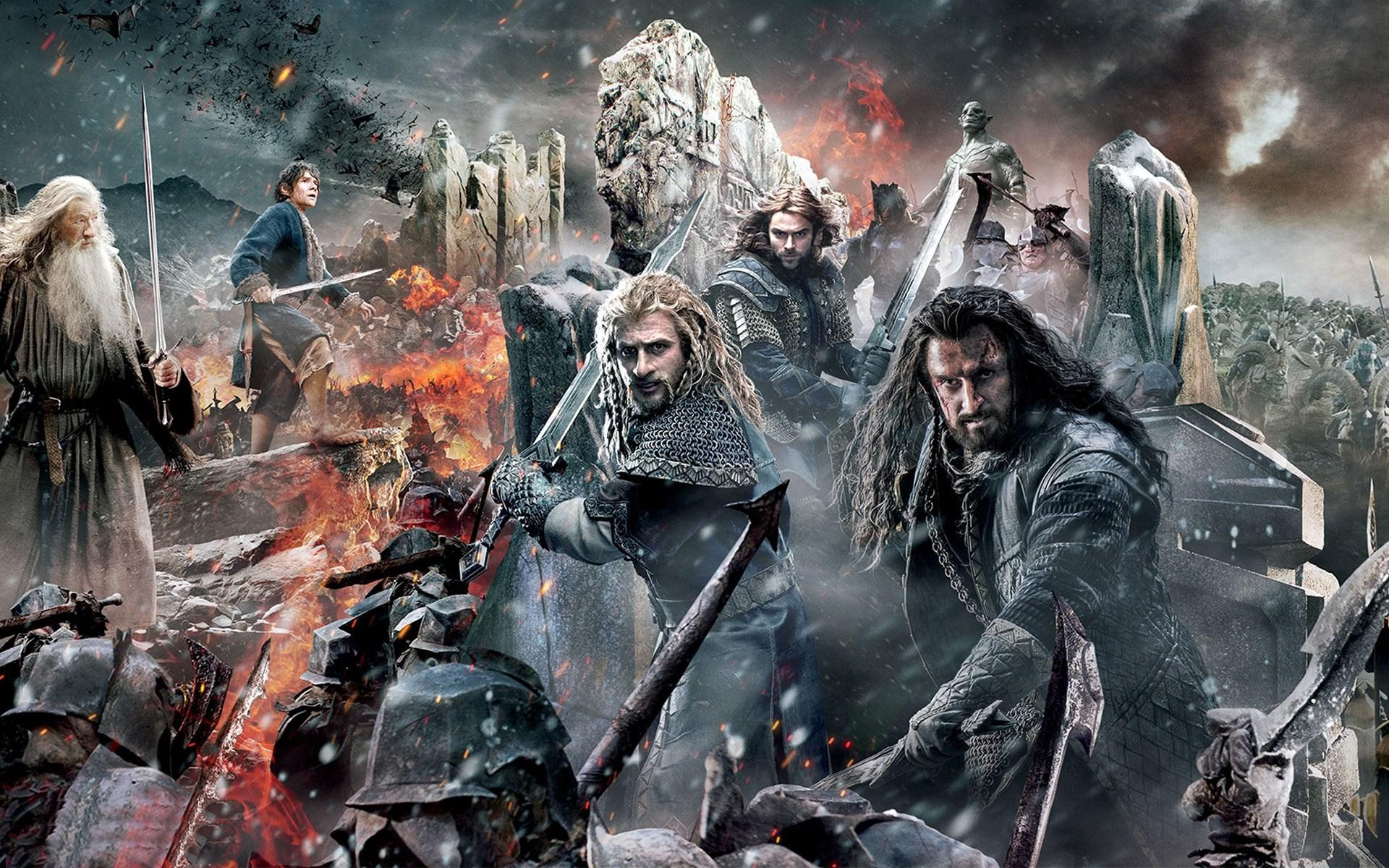 A Battling We Will Go The Hobbit The Battle Of The Five Armies 2014 Tripping Through Gateways